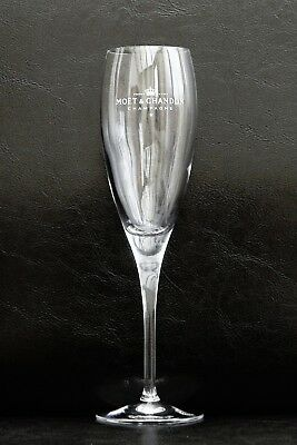 Moet Chandon Champagne Imperial Flute Glass 22Cm Tall In Excellent Condition