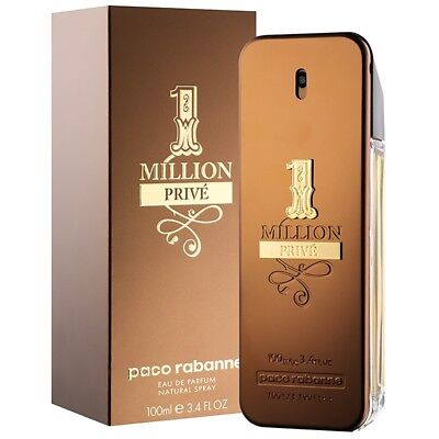 NEU 1 Million PRIVE von Paco Rabanne Eau de Toilette Spray 100ml für Herren NEU