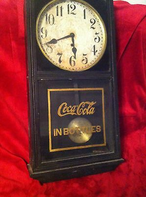 Antique Coca Cola Gilbert Clock