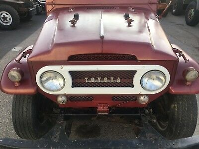 1966 Toyota Land Cruiser  1966 Toyota Land Cruiser FJ40 Bronco Defender Scout Project Original Power Wagon