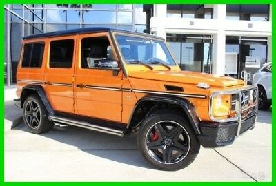 2016 Mercedes-Benz AMG® G AMG® G 63 2016 AMG G 63 M. B. Certified Turbo 5.5L V8 32V Automatic 4MATIC SUV Moonroof