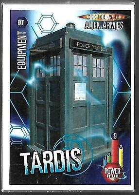 Doctor Who Alien Armies Complete 180 Base Common Card Set - PANINI ISSUE