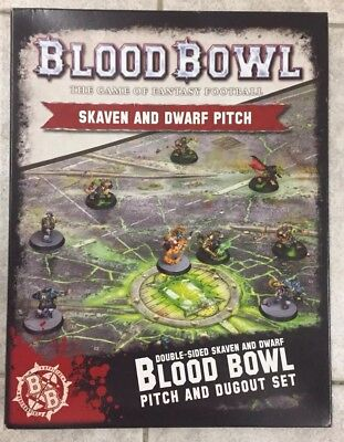 Blood Bowl - Skaven & Dwarf Pitch