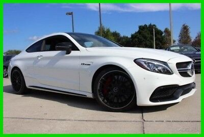 2017 Mercedes-Benz C-Class AMG® C 63 S 2017 AMG C 63 S Used Certified Turbo 4L V8 32V Automatic RWD Coupe Moonroof