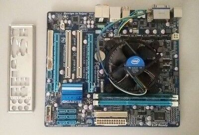 GIGABYTE GA-H55M-D2H motherboard + Intel Pentium 2.8GHz CPU G6950 with 2GB RAM