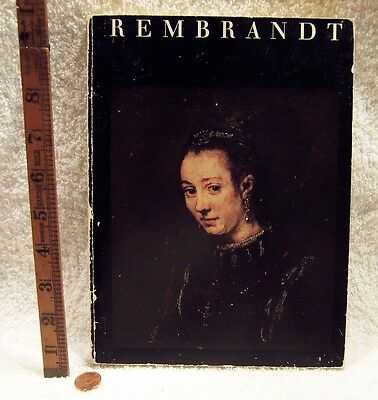 1969 REMBRANDT And His Pupils Softcover Book By Robert Stockwell (Pre-Owned)
