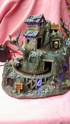 """Lemax Spooky Town collection """" Dead Man's Mine """""""