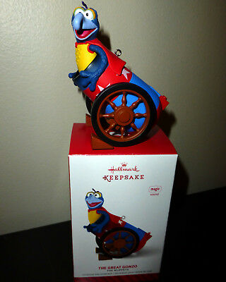 Hallmark Muppets The Great Gonzo 2014 Christmas Ornament