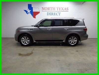 2011 Infiniti QX56 7-passenger GPS Navi Camera TV DVD Sunroof 2011 7-passenger GPS Navi Camera TV DVD Sunroof Used 5.6L V8 32V Automatic SUV