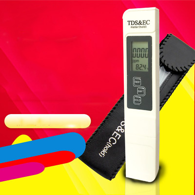 TDS Meter Tester for Check The Purity of Pure Water PH Managing Tool PH Paper