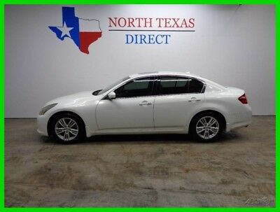 2010 Infiniti G37 Leather Heated Seats Sunroof Back Up Camera 1 Texa 2010 Leather Heated Seats Sunroof Back Up Camera 1 Texa Used 3.7L V6 24V Sedan