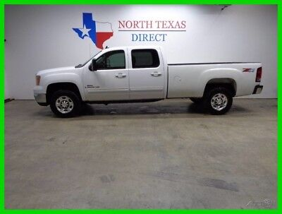 2009 GMC Sierra 2500 SLT 4WD Leather Heated Seats Crew Cab Long Bed 1 T 2009 SLT 4WD Leather Heated Seats Crew Cab Long Bed 1 T Used Turbo 6.6L V8 32V