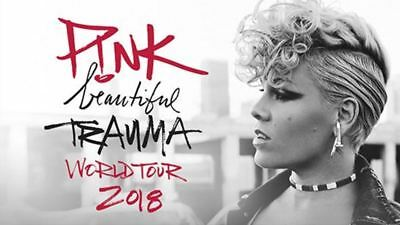 2x PINK TICKETS 23/7/18 MELBOURNE LOWER LEVEL SEC.12 SEATS AT ROD LAVER ARENA