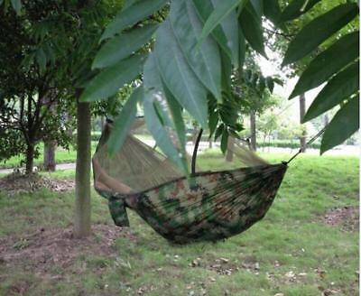 Camping Hammock Mosquito Net Hammock Hiking Hanging Bed for Outdoor Travel