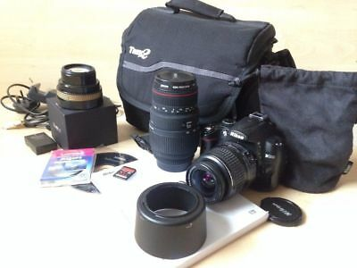 Nikon D5000 SLR Camera and Lens Bundle