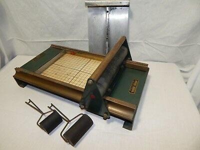 Vintage Morgan Co. Line-O-Scribe Sign Printing Machine Press Model No. M711
