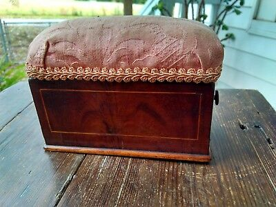 Small Antique Sewing Box 1800s
