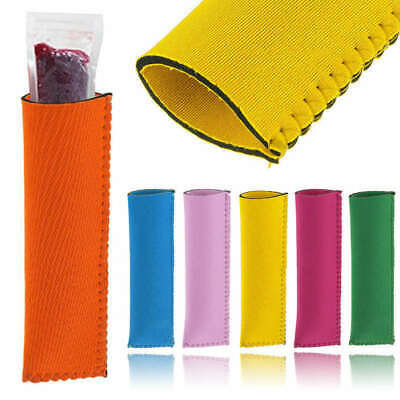 Neoprene Ice Pop Holder Ice Lolly Grips Popsicle Holders Keep Ice Block Cold