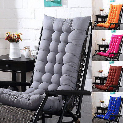Lounge Chair Cushion Tufted Deck Chaise Padding For Outdoor Patio Pool Recliner