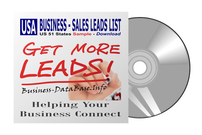 Sample 1000 Records Business Database USA Business Sales Leads List BDB