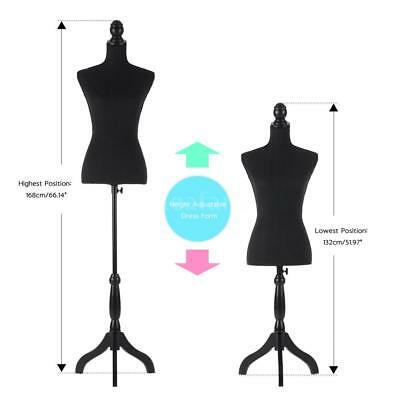 Professional Adjustable Dress Form Women Mannequin Stand Sewing Dressmaker I0P7
