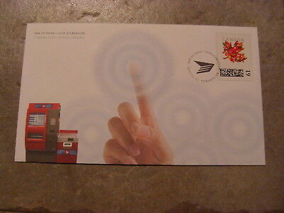 2012 #CP1 Computer Vended Postage FDC with CP cachet - First Day Cover 61 cents