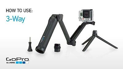 GoPro 3-Way Grip, Arm, Tripod (GoPro Official Mount) authentic 100%