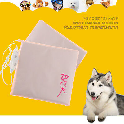 Safety Electric Heating Heater Heated Mat Pad Blanket Bed for Pet Dog Cat