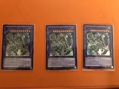 YUGIOH! x3 Ultimate Ancient Gear Golem OP05-EN009 - Super Rare - M/NM