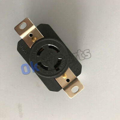 L14-30 LOCKING FEMALE Plug for Reliance PB30 30 Amp Outdoor