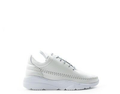 858f04f9803b4 Scarpe FILLING PIECES Donna Sneakers Trendy BIANCO Pelle naturale APACHE- RUNNER