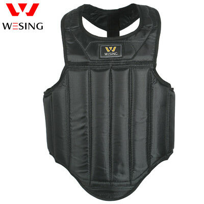 Chest Guard MMA Sanda Body protector Muay Thai Boxing Chest Protector By Wesing