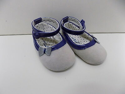 Mayoral pretty faux suede shoes size 3-6 6-9 months 18 WORN ONCE         mw