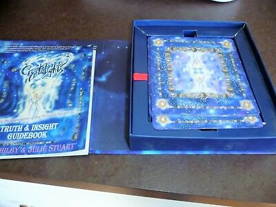Tarot Crystalights Truth And Insight Cards  With Book