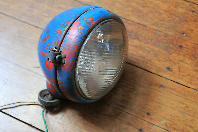 Original Fordson Major Head light.Still Working!