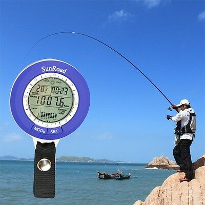 Multi-function LCD Digital Outdoor Fishing Barometer Altimeter Thermometer HA