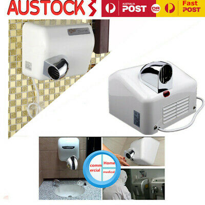 2X Super Powerful 360° Rotational Wall Mounted Automatic Hand Dryer 2300W
