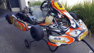 Racing kart - CRG Kalifornia with X30 125CC race ready engine