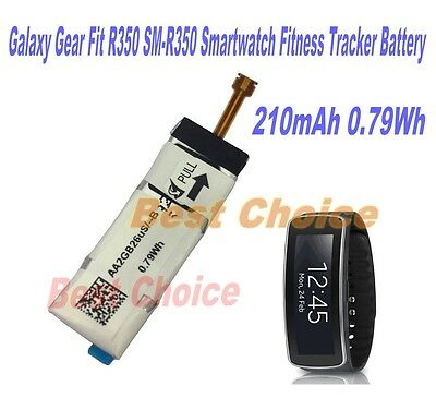 New Original 210mAh 0.79Wh R350 Battery for Samsung Galaxy Gear Fit SM-R350 R350