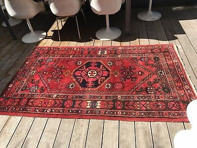 Gorgeous Authentic Designer Vintage Moroccan Tribal Wool Floor Rug Carpet