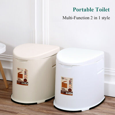 3.2Gal / 12L LARGE Portable Toilet Compact Potty Loo Pool Camping Caravan Picnic