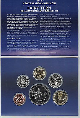 New Zealand 2012  Uncirculated Coin Set, Rare!!!