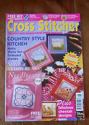 Cross Stitcher Magazine May 1997 Issue 56 with free kit