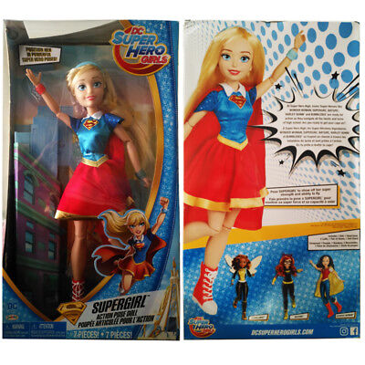 DC Comics Super Hero Girls Supergirl Action Pose Doll Figure Kid Girl Toy GIft