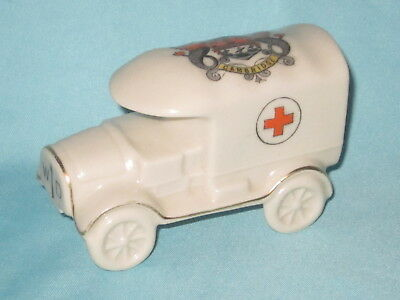 Carlton China WW1 Red Cross Van* - CAMBRIDGE crest