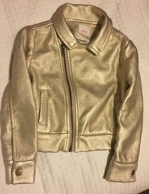Seed Heritage Girls Metallic  Gold Jacket Size 3-4 BNWOT