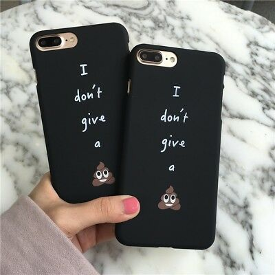 Funny Letter Personality Interesting Faeces Hard Plastic Protection Phone Case