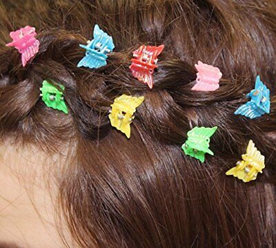 Pack of 24 Butterfly Hair Clips, 90's Nostalgia Hair Accessories