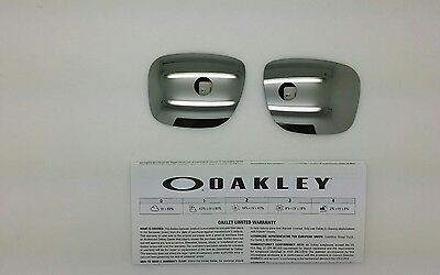 Oakley HOLBROOK lenti ricambio colore CHROME  iridium model 9102 ORIGINALI