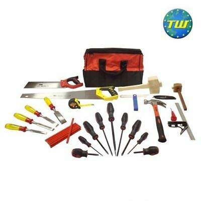 14pc Joinery Starter Tool Kit - Apprentice Carpentry & Woodworking Tools Set